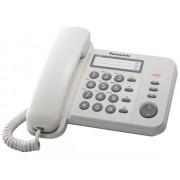 Telefon Analogic cu Fir Panasonic KX-TS520FXJ cu Memorie Alb
