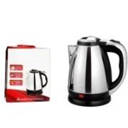 Wonder World ® ANMOL™ 1.8 L - TR-1108 - 1500W Water Coffee Tea Pot Electric Kettle(1.8 L, Silver)