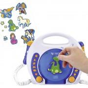 X4-Tech Bobby Joey MP3, CD player za djecu, SD kartica, USB, bijela, plava 701353 X4 Tech