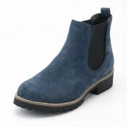 "Chelsea boots, ""Strike"", jeans-blauw 37"