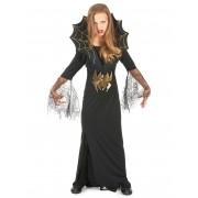 Vegaoo.es Disfraz de reina de las arañas para niña ideal para Halloween - L 10-12 años (130-140 cm)
