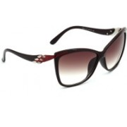 Eyeland Cat-eye Sunglasses(Red)
