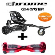 Red Chrome Segway & Monsterkart Bundle - Choose Your Colour