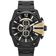 Diesel Chronograph Black Dial Mens Watch - DZ4338