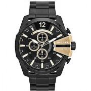 Diesel Chronograph Black Dial Mens Watch - DZ4338