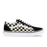 Vans UA Old Skool Checkerboard Zwart/Wit Dames