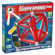 SUPERMAG MAXI ONE COLOR - SET CONSTRUCTIE 44 PIESE - SUPERMAG (SM0122)