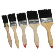 Generic 5 Piece Paint Brush Set Diy Painting Decorating Art With Wooden Handle
