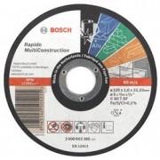 Discuri de taiere drepte Multi Construction D=125mm G=1,6mm