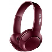 Casti Stereo Philips SHB3075RD, Bluetooth, Microfon (Rosu)