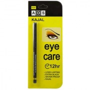 TMG EYECARE KAJAL PENCIL 12 HOUR. EXTRA BLACK. LONG LASTING. WATER PROOF. KAJAL (PACK OF FOUR
