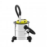 Ash Vacuum - 1,200 W - stainless steel - HEPA filter - wheels