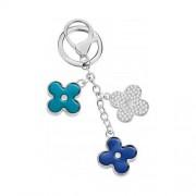 portachiavi morellato da donna magic flowers charm azzurro sd 0390