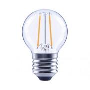 Bec LED Flair E27 2,2W 250 lumeni, glob clar G45, lumina calda