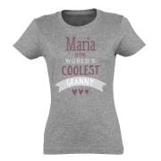 YourSurprise T-shirt - Vrouw - Grijs - XL