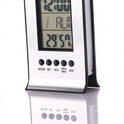 Tradico® Indoor Outdoor Wireless Weather Station Digital Alarm Clock Forecast Calendar