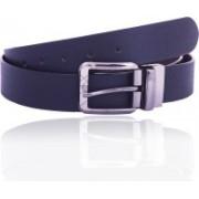 TR Men Formal Black Genuine Leather Reversible Belt