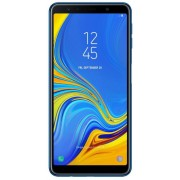 "Telefon Mobil Samsung Galaxy A7 (2018), Procesor Octa-Core 2.2GHz, Super AMOLED Capacitive touchscreen 6"", 4GB RAM, 64GB Flash, 24+5+8MP, 4G, Wi-Fi, Dual Sim, Android (Albastru) + Cartela SIM Orange PrePay, 6 euro credit, 6 GB internet 4G, 2,000 minute na"