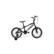 Bicicleta Aro 16 GTS M1 Advanced New Kids Freio V-Brake Infantil - PRETO GTSM1