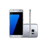 Smartphone Samsung Galaxy S7 Android 6.0 Tela 5.1 32GB 4G Câmera 12MP - Prata