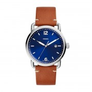 Часовник FOSSIL - The Commuter 3H Date FS5325 Brown/Silver