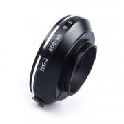 Adapter EF-NX: Canon EOS EF Lens - Samsung NX mount Camera