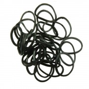 Mezzo Elastiques bracelets noirs