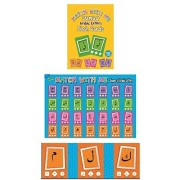 Jumbo Arabic Letters Flash Cards Set with FREE A2 Size Poster Included 28 Double Sided 14.5 cm X 20.5 cm Cards by Ali-gator