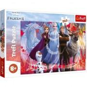 Puzzle Trefl, Disney Frozen II, In cautarea aventurilor, 260 piese