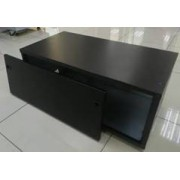 Battery Box for x 4 100Ah Bat ( On Adjustable Feet ) - SOL-BBB-4-100A-BLK