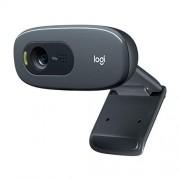 Logitech 960 – 001063 °C270 HD webcam Zwart