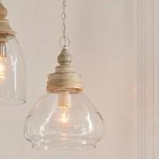 LOBERON Hanglamp Pallu / helder