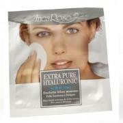 Incarose extra pure hyaluronic scrub viso dischetto bifase monouso
