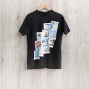 smartphoto T-Shirt Dunkelblau L