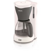 Cafetiera Philips HD7562/55, 1000 W, 1.2 l, Alb/Gri