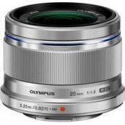 Obiectiv Foto Olympus M.ZUIKO DIGITAL ES-M2518 25mm f1.8 Argintiu
