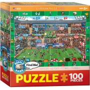 Puzzle Eurographics - Find Me - Soccer, 100 piese (62204)