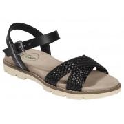Footflexx Dames comfort sandalen 41, Zwart