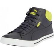 Puma Salz Mid DP Sneakers For Men(Grey)