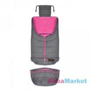 Petite & Mars Sven 2in1 bundazsák Dark Grey-Pink