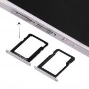 iPartsAcheter Huawei Ascend P7 Micro Carte SIM + Micro SD Carte Plateau (Blanc)