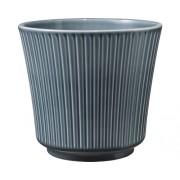Masca pentru ghiveci 'Delphi', Ø 20 cm, h 18 cm , gri albastrui