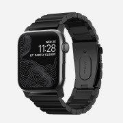 Nomad Titanový pásek / řemínek pro Apple Watch 42mm / 44mm - Nomad, Titanium Band Black