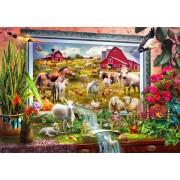 Puzzle Bluebird - Magic Farm Painting, 1.000 piese (70029)