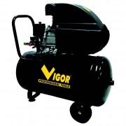 Compressore aria vigor vca-50l 50 litri / 230v / 1 cilindro / trasmissione diretta / 2 hp
