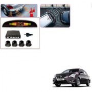 Auto Addict Car Black Reverse Parking Sensor With LED Display For Nissan Sunny