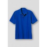 ランズエンド LANDS' END メンズ・ヘリテージ・ポロ/無地/半袖/ポロシャツ(ダークコバルトブルー)