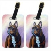 Caroline's Treasures 7117BT French Bulldog Luggage Tag(Multicolor)