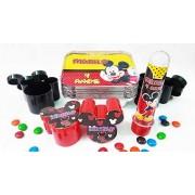 Kit festa Mickey e Minnie - personalizado - 10 unidades