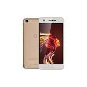 Quantum YOU L 4G 32GB Dourado Smartphone QuadCore 2GB RAM Duas Câmeras 13MP Tela HD 5 Android 7